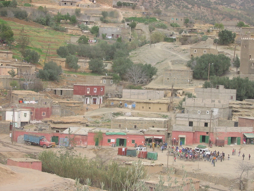 marruecos pueblo