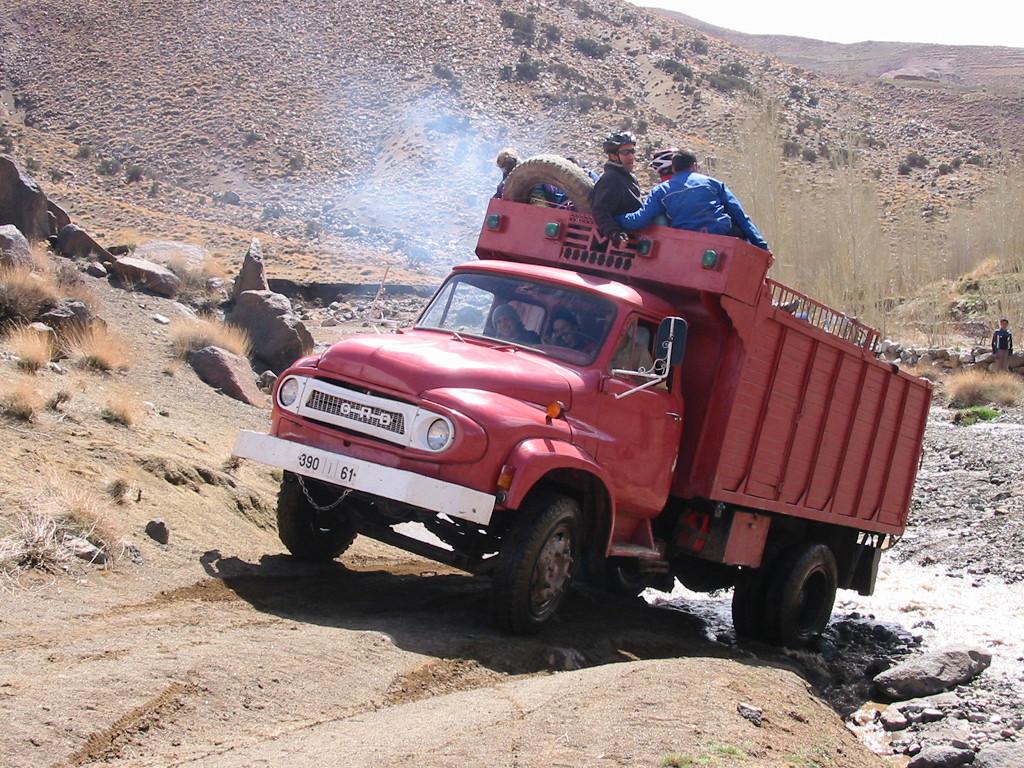 marruecos camión
