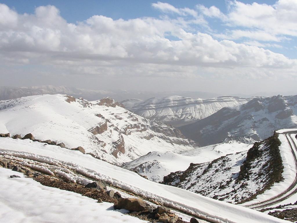 Marruecos nieve