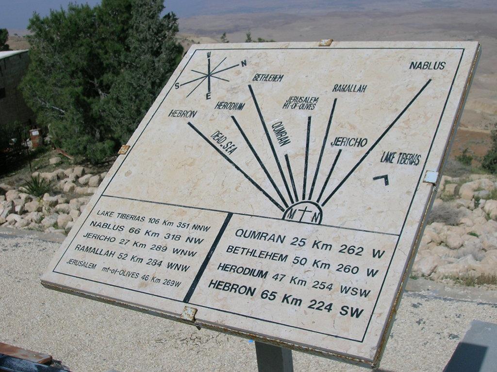 Jordania monte Nebo