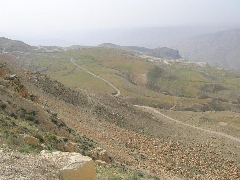 Jordania paisaje