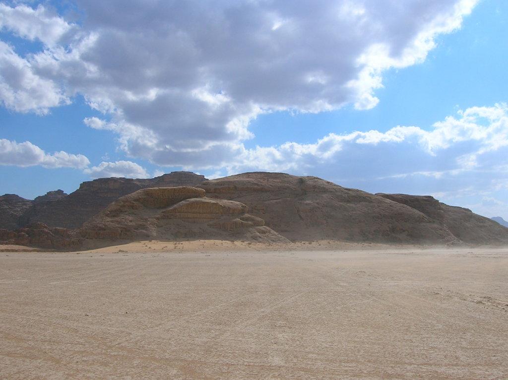Jordania lago seco