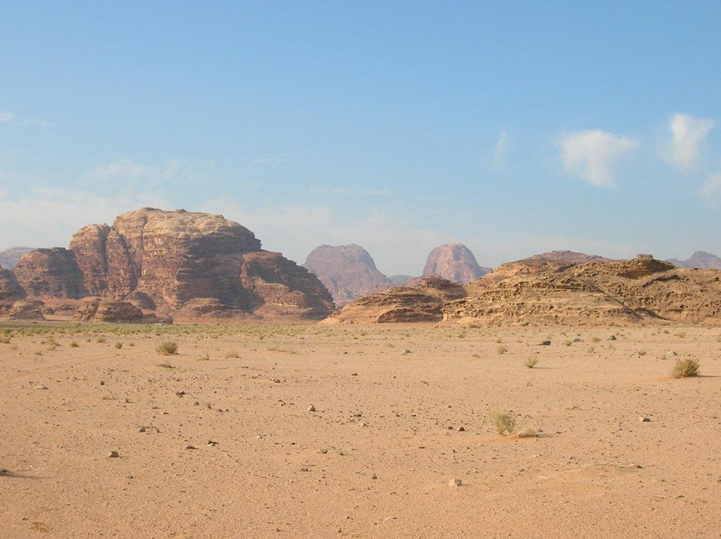 Jordania desierto