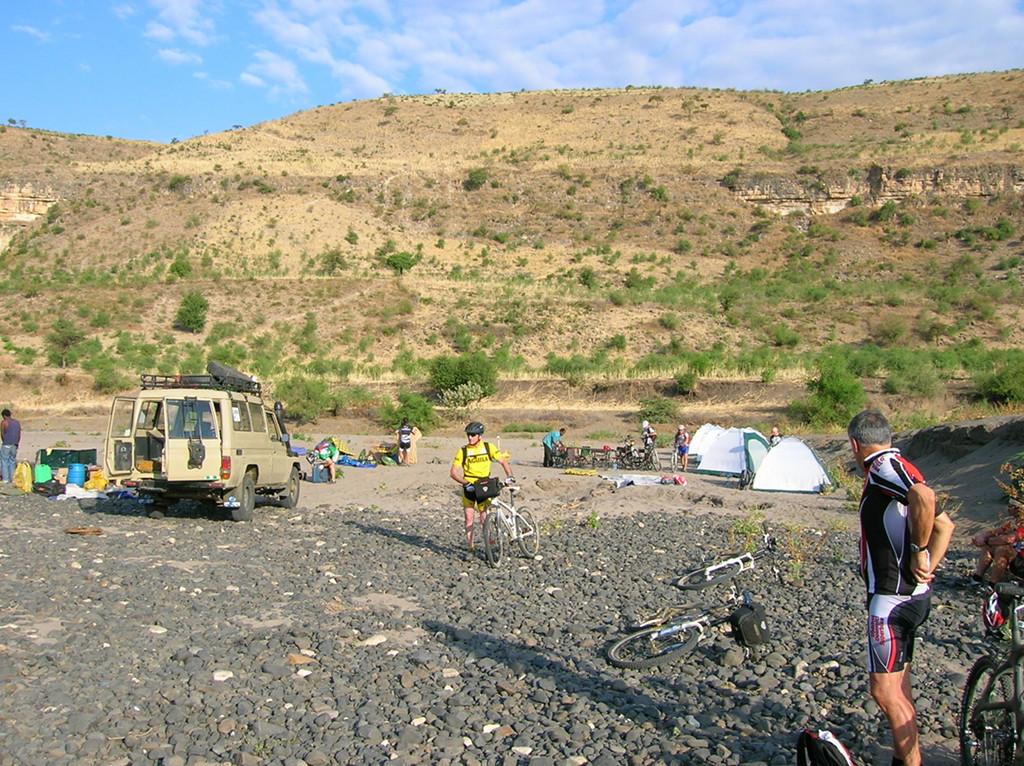 Etiopia campamento