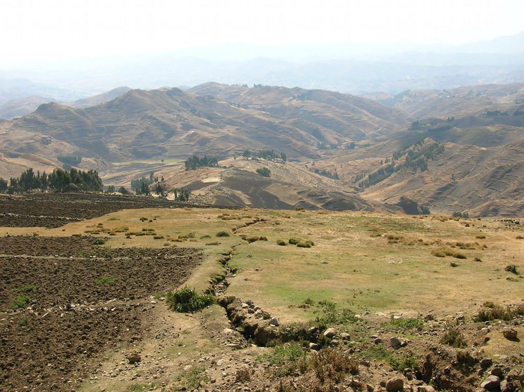 Etiopía altura