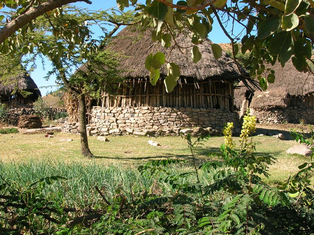 Etiopía cabaña
