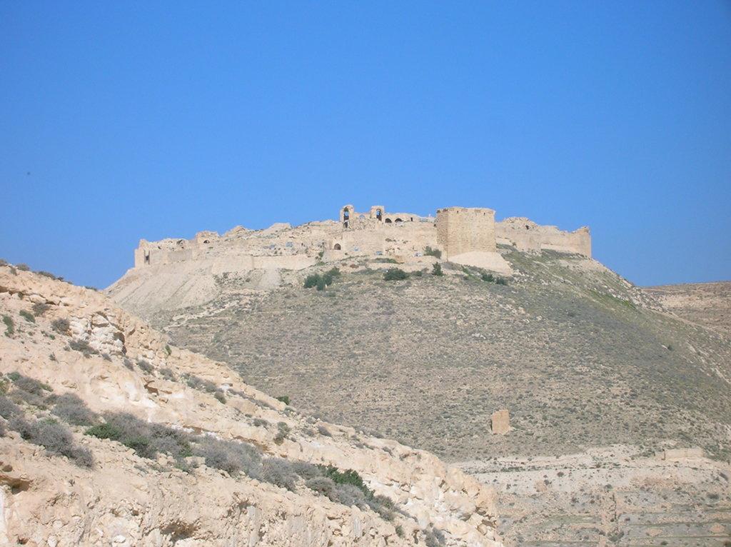 Jordania castillo Shobak