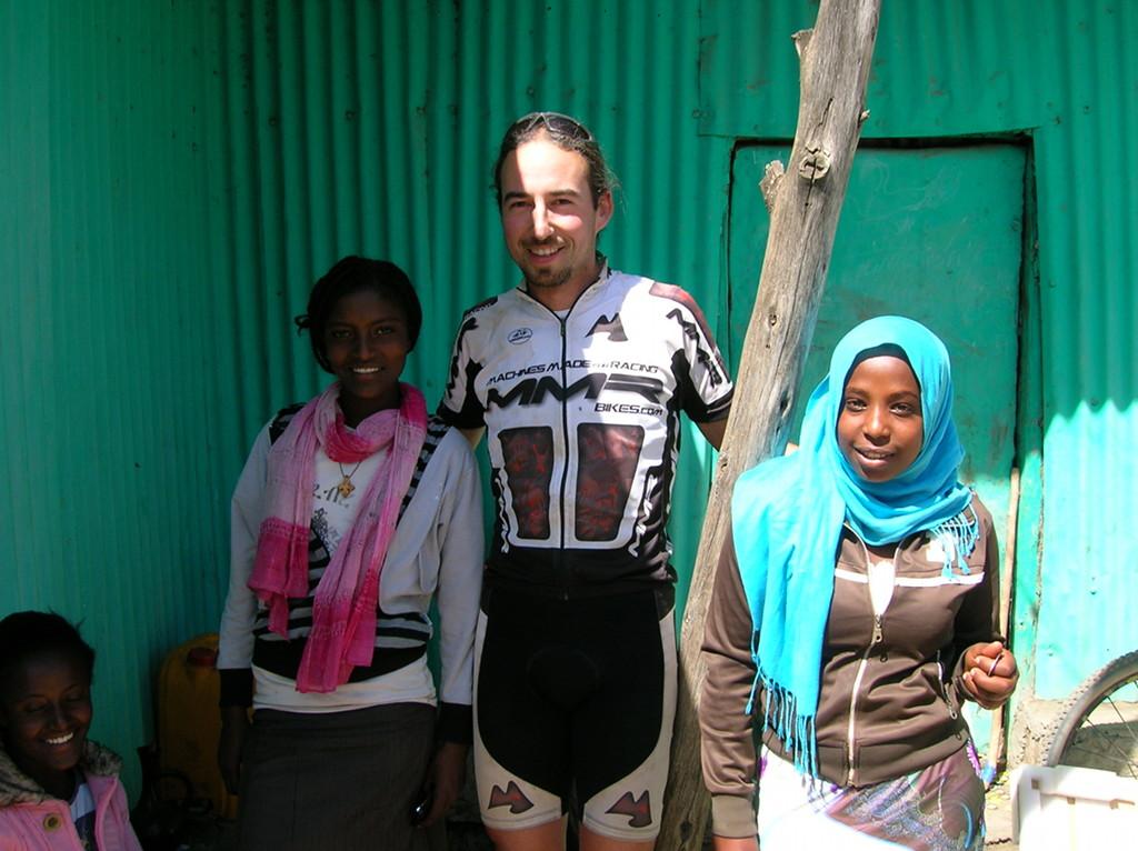 Etiopía camareras