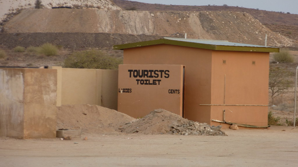 Tourists toilets