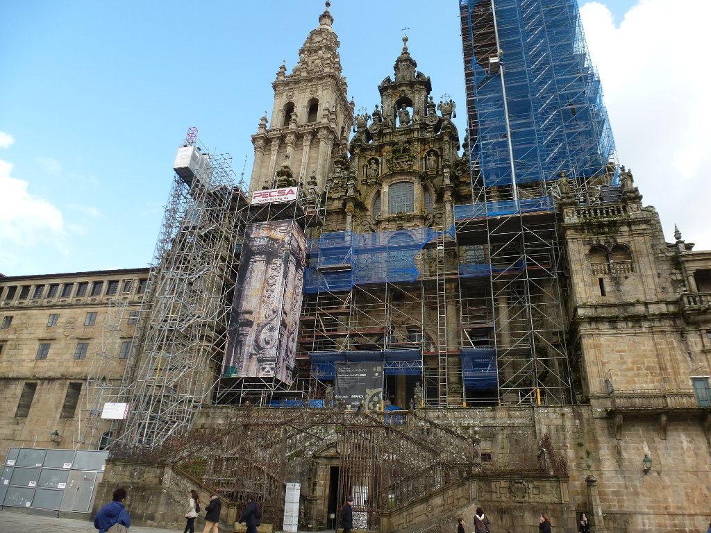 Catedral de Santiago, en obras