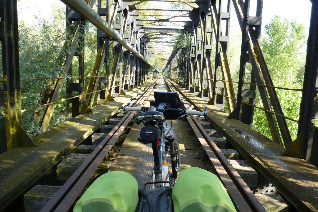 Puente ferrocarril Benavente